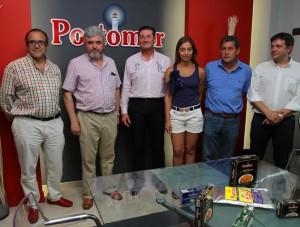 BALONCESTO PRESENTACION PORTOMAR PATROCINADOR CORTEGADA /