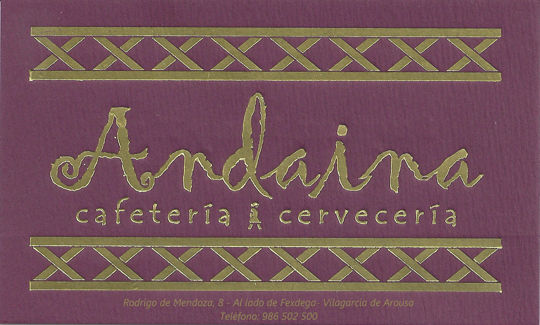 Andaina Cafetería y cervecería