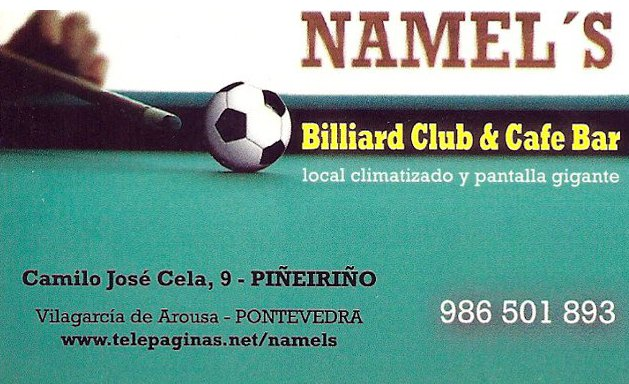 Namel's Billiard Club & Café Bar