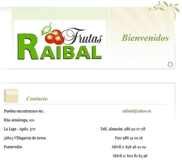 Frutas Raibal
