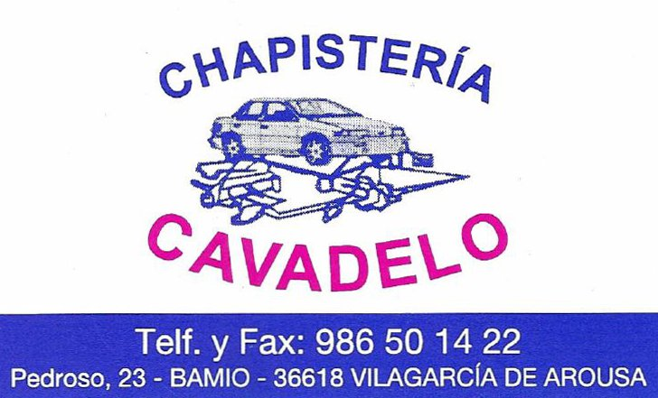 Chapisteria Cavadelo